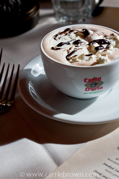 Cafe Parco Hot Chocolate