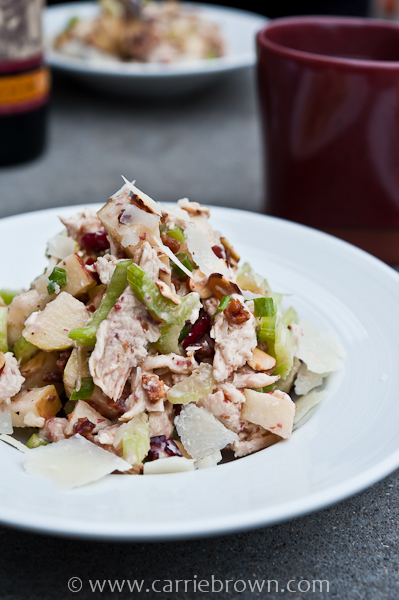 Chicken & Cranberry Salad at Purple Cafe, Kirkland