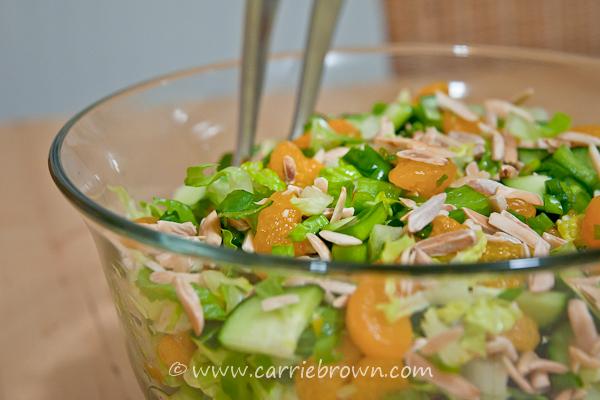Mandarin Orange and Almond Salad