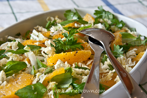 Orange Herb Slaw