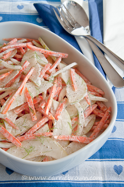 Summer Pear Slaw