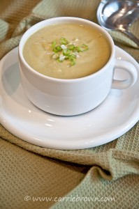 Leek and Cauliflower Soup