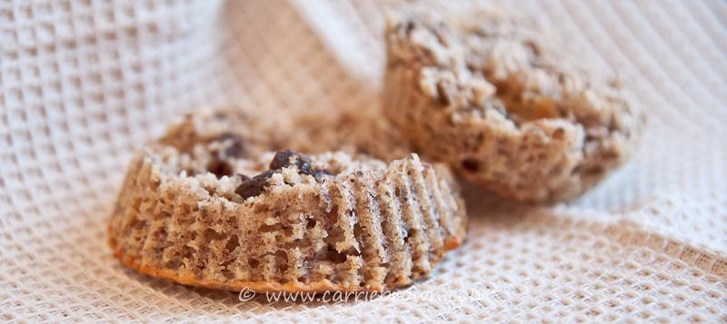 Cinnamon Pecan Muffins   Carrie Brown